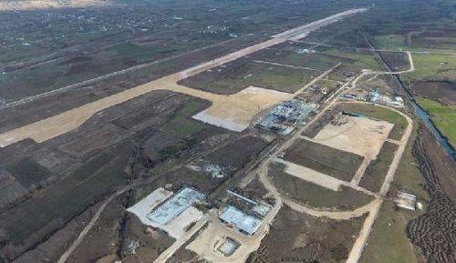 Tokat'ta Yeni Havalimanı İnşaatının Yüzde 50'lik Kısmı Tamamlandı