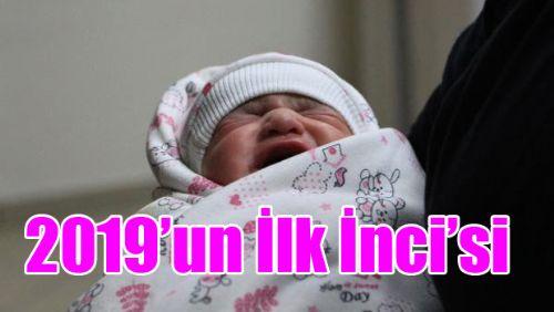 Tokat'ta Yılın İlk Bebeği Dünyaya Geldi