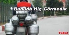 Tokatta Yok Artık Dedirtecek Motosiklet Sürücüsü