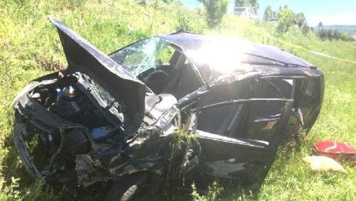 Tokat'ta araç tarlaya uçtu: 2 ölü, 3 yaralı