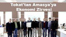 Tokat'tan Amasya'ya Ekonomi Zirvesi