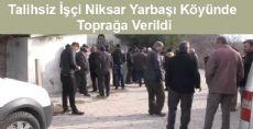 Trafo Patlamasında Ölen İşçi Toprağa Verildi