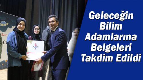 Tübitak 4006 Bilim Fuarı Açılış, Tanıtım ve Belge Töreni