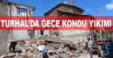 Turhal'da 100'e Yakın Gecekondu Yıkıldı