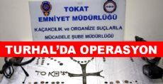Turhal'da Eser Kaçakçılığı Operasyonu