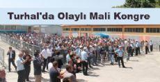 Turhal'da Olaylı Mali Kongre
