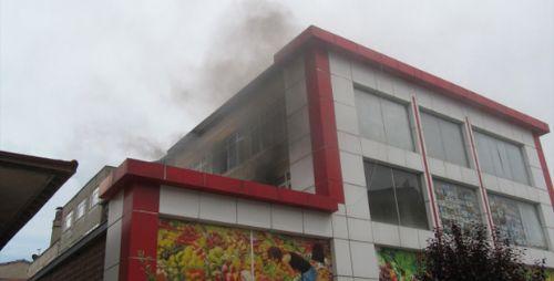 Turhal'da Yangın