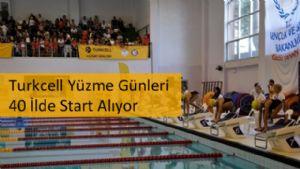Turkcell Yüzme Günleri 40 İlde Start Alıyor