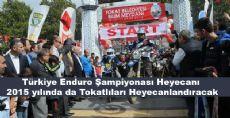 Türkiye Enduro Şampiyonasında Tokat'ta Yer Alacak