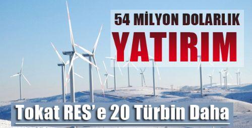 Türkiye'nin En Yüksek Rakımlı RES'i Tokat'ta