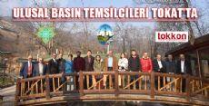 ULUSAL BASIN TEMSİLCİLERİ TOKAT'TA