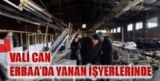 VALİ CAN ERBAA'DA