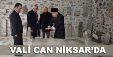 VALİ CAN NİKSAR'DA
