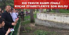 XIII TENVİR KAMPI FİNALİ KOÇAK ZİYARETLERİYE SON BULDU