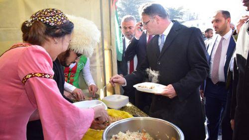 Yabancı Uyruklu Öğrenciler Yöresel Yemeklerini Tanıttı