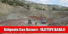 Yazıtepe Barajı Bölgeyi Canlandıracak