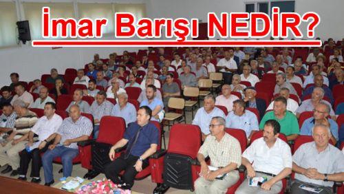 Niksar'da İmar Barışı Bilgilendirme Toplantısı Yapıldı