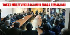 ZEYİD ASLAN ERBAA'DA İNCELEMELERDE BULUNDU