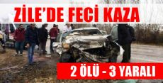 ZİLE'DE FECİ KAZA