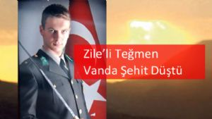 Zile'li Teğmen Vanda Şehit Düştü