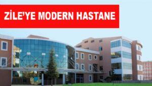 Zile'ye 100 Yataklı Modern Hastane
